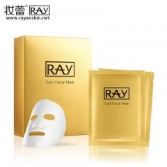 泰国 妆蕾ray蚕丝面膜(金色)