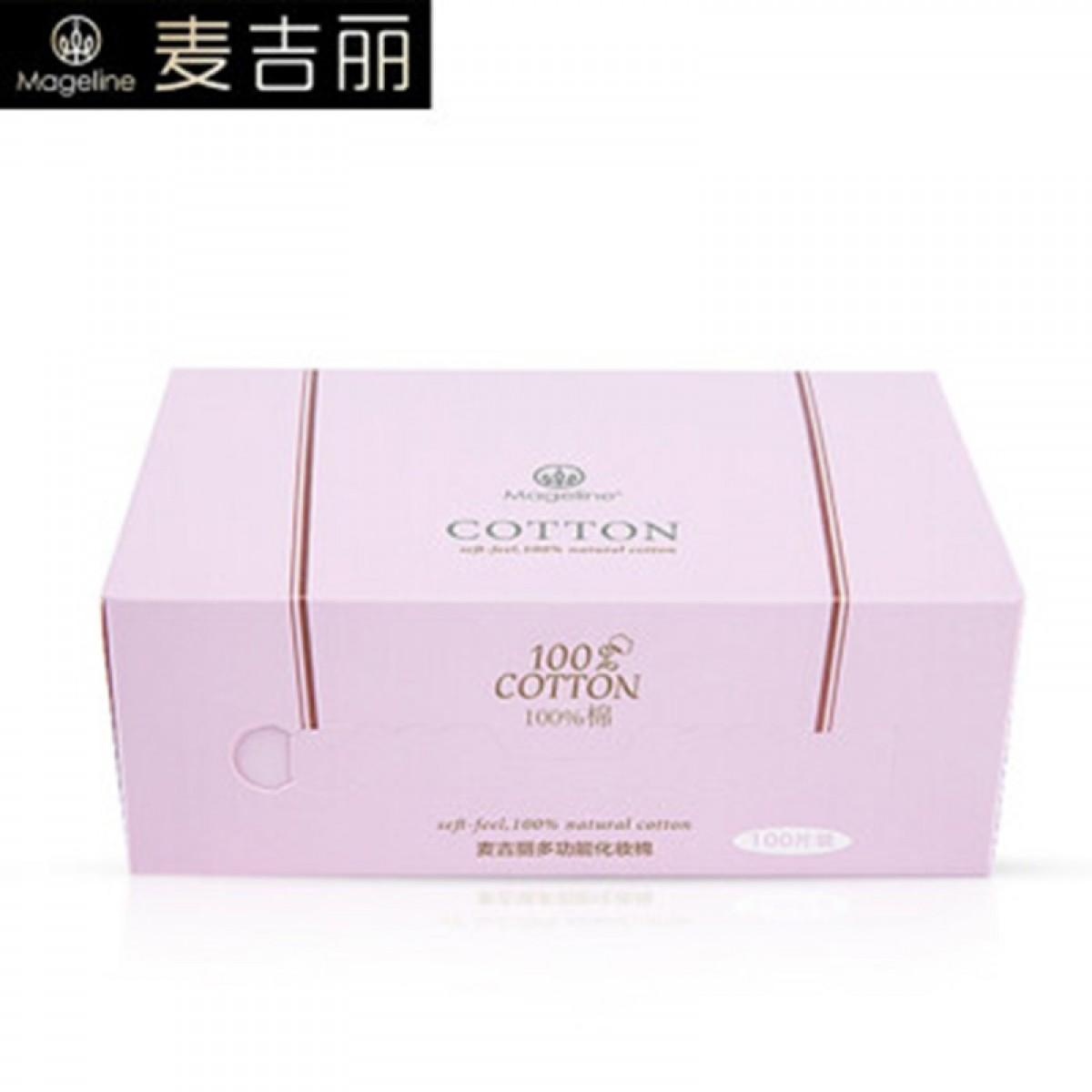 麦吉丽(Mageline) 多功能化妆棉 100片/盒