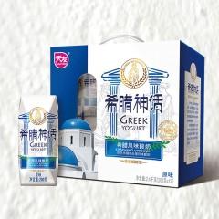 利乐钻希腊神话原味酸奶12*200g